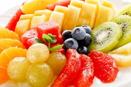 色々なフルーツ