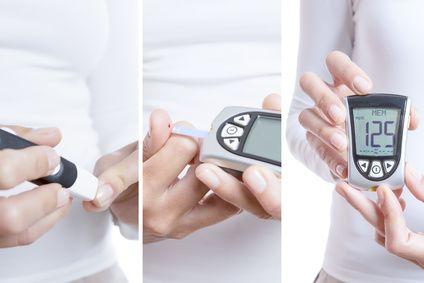血糖値を計測する