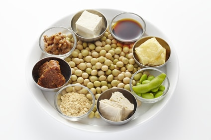 大豆でできている食品