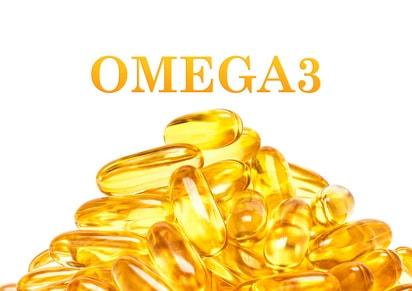 オメガ3系のサプリメントのイラスト