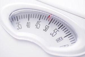 体重計の目盛り