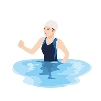 水中ウォーキングで痩せる!【効果的な歩き方は?】