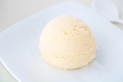 バニラアイス
