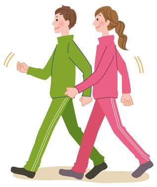 ジョギング ウォーキング 歩く
