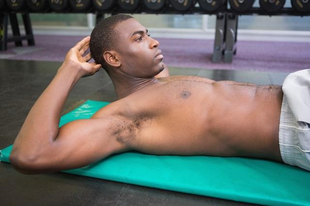 タッククランチでシックスパックを目指す!強力腹筋トレーニング!
